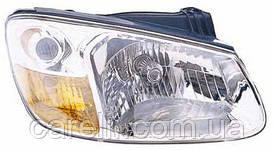 Фара передняя для Kia Cerato '06-09 левая (DEPO) под электрокорректор