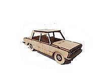 Деревянный конструктор 3D пазл Fiat 125
