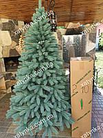 Литая елка Буковельская 2.10м. голубая