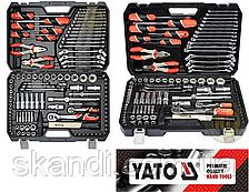 Качественный Универсальный набор инструмента для автомобиля Yato(Оригинал)Польша