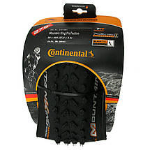 "Покрышка Continental Mountain King 2.3, 27.5""x2.30, 58-584, Foldable,  PureGrip, ShieldWall System, 795гр., фото 3"