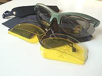 Комплект Стрелковые противосколочные очки, поликарбонатные тактические баллистические очки