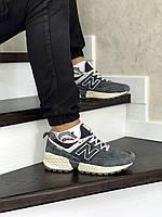 Кросівки чоловічі в стилі  New Balance 574  сірі   ТОП якість