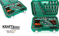 Набор инструментов Kraft&Dele 216шт   (хороший набор для автобилиста)