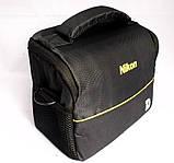 Чехол сумка Nikon, противоударная Фото сумка Никон, фото 3