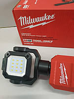 Фонарь строительный Milwaukee M12 2132-20 Rocket светильник 1400 люмен, фото 4