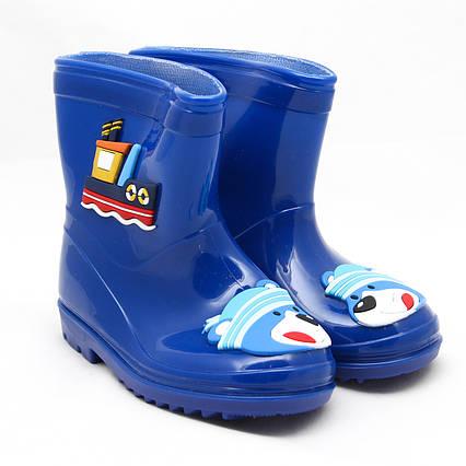 Детские резиновые сапоги, синие, 20 см (513870-5)