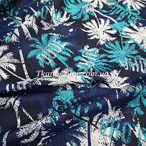 Плащевая ткань канада принт пальмы