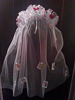 Фата на девичник с пожеланиями для невесты