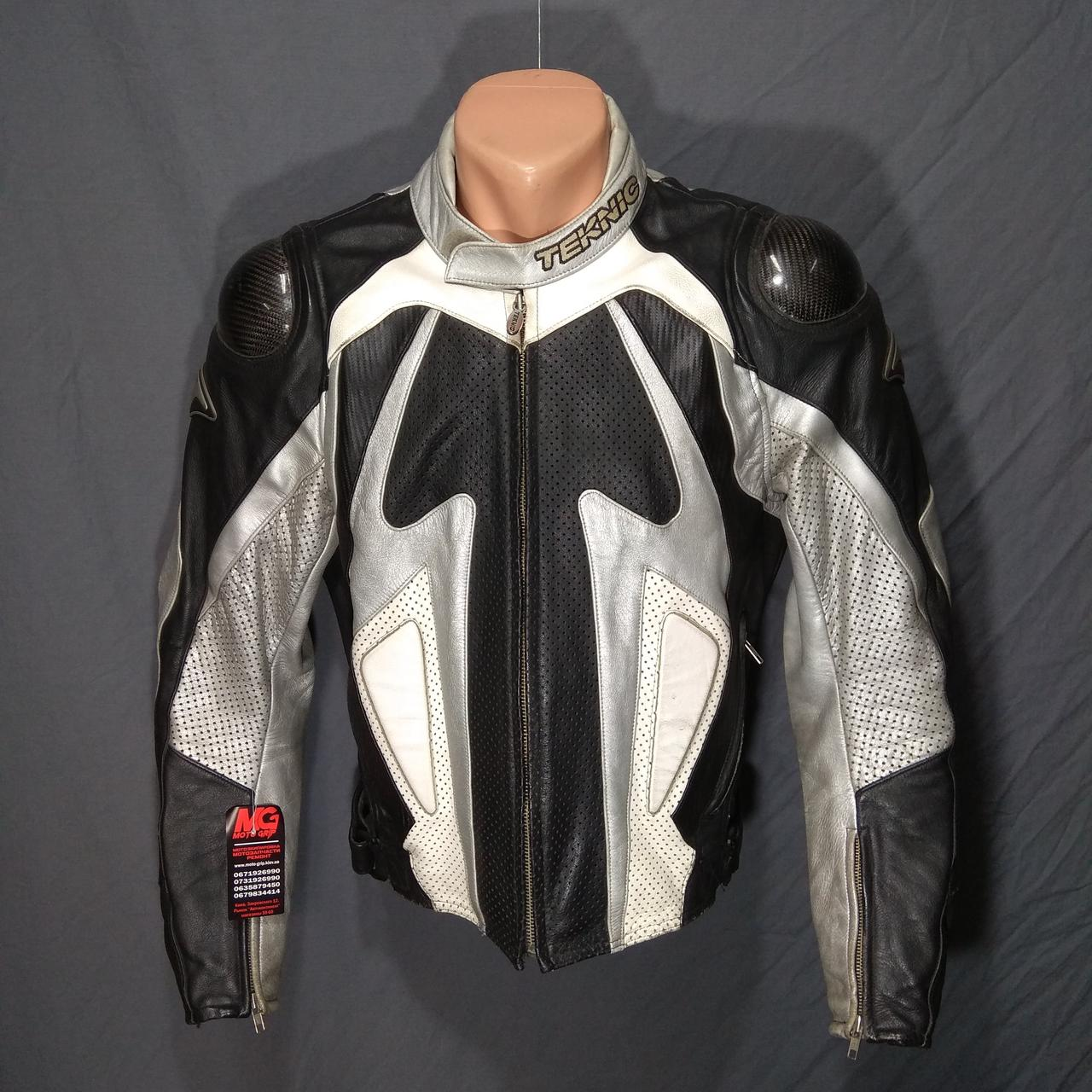 Мотокуртка TEKNIC б/у кожа