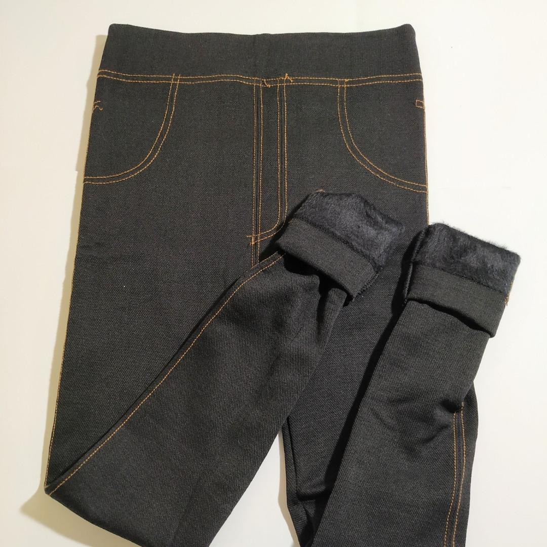Лосіни жіночі під джинс на хутрі 46-48 розмір
