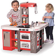 Детская интерактивная кухня Smoby Тефаль Студио Френч с эффектом кипения большая 311046