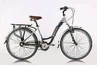 """Велосипед женский ARDIS CITY TREKKING 26"""" 17"""" Серый на планетарной втулке"""