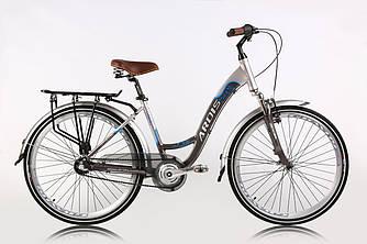 """Велосипед ARDIS CITY TREKKING 26"""" 17"""" Серый на планетарной втулке"""