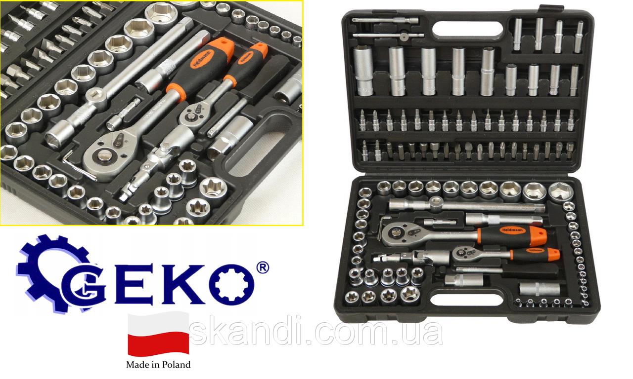 Набор инструментов Geko (Poland) 94 элементов