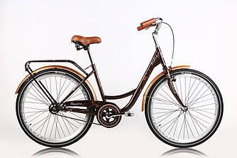 """Велосипед дамский ARDIS Messina 26"""" 17"""" Коричневый  / Городской / Гибрид"""