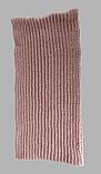 Комплект шапка подвійна і хомут м 5003, різні кольори, фото 6