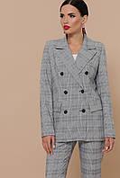 Двубортный женский пиджак