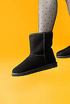 Угги женские в стиле UGG Australia Classic Short Black, фото 2