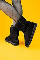 Угги женские в стиле UGG Australia Classic Short Black, фото 3