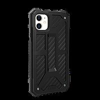 Противоударный чехол UAG Monarch Carbon Fiber для iPhone 11