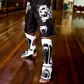 Защита голени и стопы для Тайского бокса