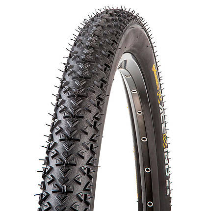 "Покрышка Continental Race King 2.0, 26""x2.00, 50-559, Foldable, PureGrip, ShieldWall System, Skin, 630гр., фото 2"