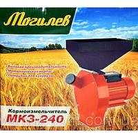 Зернодробилка ДКУ, крупорушка Могилев зерно + качан кукурузы 3,5 Квт 4 комплекта сита