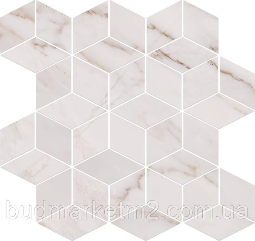 Плитка Opoczno Carrara Mosaic White Мозаика 280х297