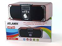 Портативная Колонка ATLANFA AT-1833BT Радиоприемник Power Bank Bluetooth