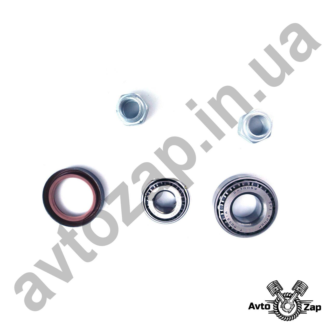 Ремкомплект ступицы  ВАЗ 2101-07  (7804,7805,сальник,гайка прав.)   44389
