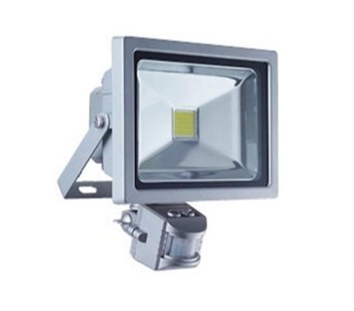 Светодиодный LED прожектор 50 Вт 6500К с датчиком
