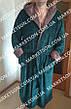 Мужской махровый халат с капюшоном р.46-62.Много размеров и цветов., фото 5