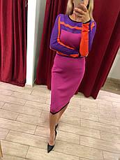 Платье трикотажное pink, фото 2