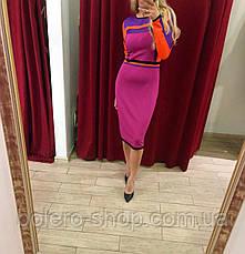 Платье трикотажное pink, фото 3