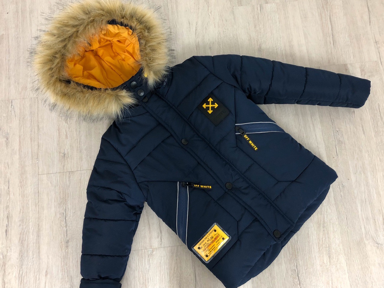 """Зимняя куртка для мальчика """"РИЧИ"""", размеры на рост 110 - 128"""