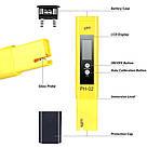 PH-метр электронный (PH-02) + калибровочные порошки, фото 4