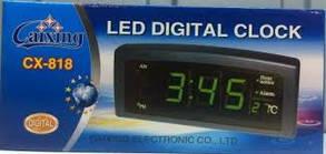 Годинники настільні CX 818, електронні годинники