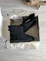 Угги женские в стиле UGG Australia Mini Bailey Bow Black, фото 3