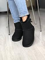 Угги женские в стиле UGG Australia Mini Bailey Bow Black, фото 2