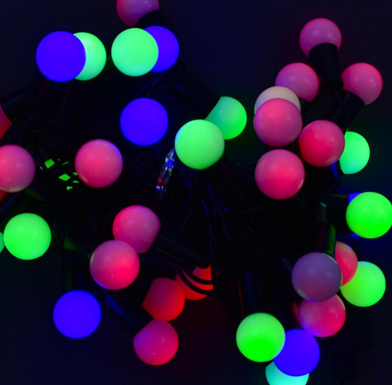 Гірлянда новорічна світлодіодна Кульки