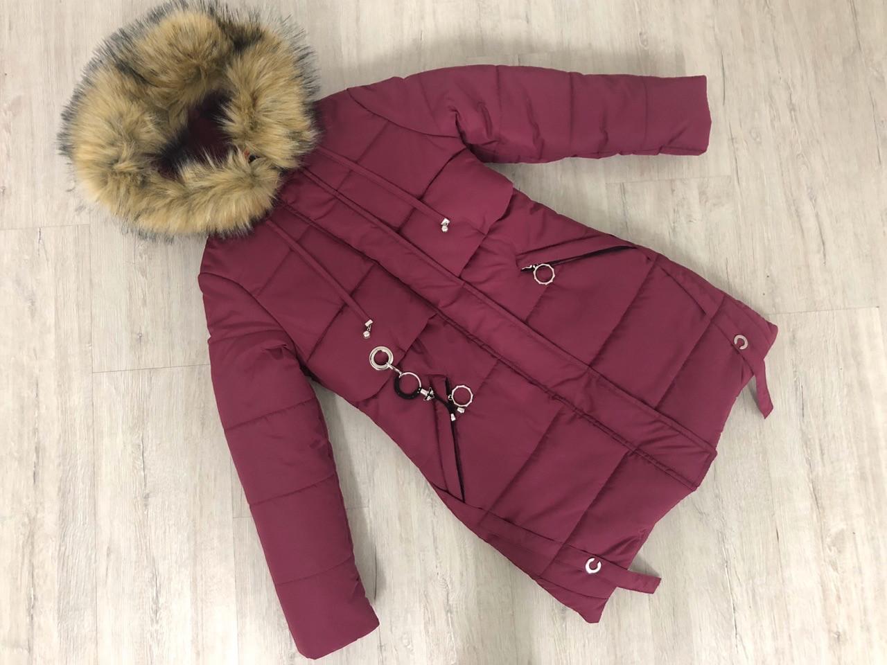 """Зимняя куртка для девочки """" EMILY"""", размеры на рост 140,146"""