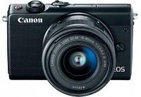 Беззеркальный фотоаппарат Canon EOS M100 kit (15-45mm) IS STM Black