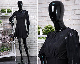 "Шикарное женское платье ткань ""Фатин+Костюмка"" 42, 44, 46 размер норма"