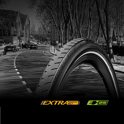Покрышка Continental RIDE Classic Reflex,  28"