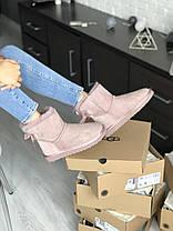Угги женские в стиле UGG Australia Mini Bailey Bow Dusk, фото 2