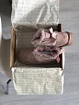 Угги женские в стиле UGG Australia Mini Bailey Bow Dusk, фото 3