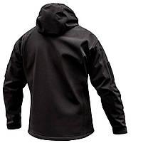 "Куртка SoftShell ""URBAN SCOUT"" BLACK, фото 4"