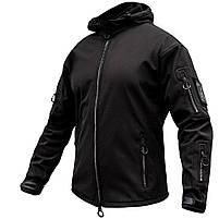 "Куртка SoftShell ""URBAN SCOUT"" BLACK, фото 3"