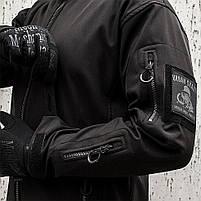 "Куртка SoftShell ""URBAN SCOUT"" BLACK, фото 5"